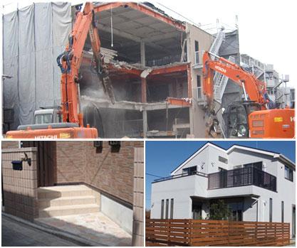 建物解体工事リフォーム会社ホームページ作成有限会社ユー・キカク